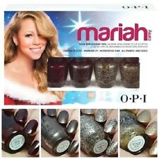 OPI MARIAH Mini Nail Polish VISIONS OF LOVE Wonderous Star SPARKLY GOLD Warm Me