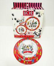 Vintage Disney 101 Dalmatians Childrens 3 Piece Eating Set Plates Cup by Trudeau