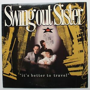 Swing Out Sister Mercury Synth Pop LP 1987