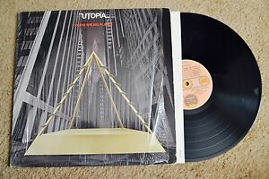 Utopia Oops! Wrong Planet shrink w/ Inner Record lp VG++