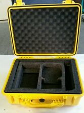 Original Pelican 1520 Yellow Case for Trimble GPS Base Equipment /w Foam