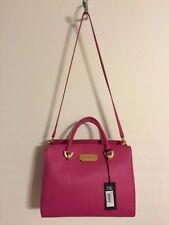 Womens Pink ZacPosen  Eartha Barrel Satchel  Handbag sz XL