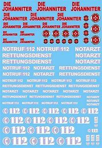 Johanniter 112 Notruf Service de Secours #1 Rettungs (Sauvetage) 1:43 Sticket