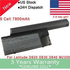 Laptop 7500mah Battery For DELL Latitude D620 D630 JD606 KD491 TD175 310-9080 F