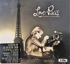 RICHARD CLAYDERMAN - LOVE IN PARIS (2CD)