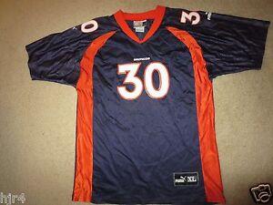 Terrell Davis #30 Denver Broncos NFL Puma Jersey Youth XL 18-20
