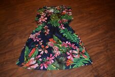 C10- NWT MNG Collection Floral Print Dress Size 4  MSRP $40.00