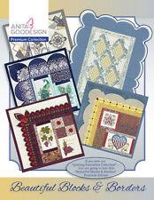 Anita Goodesign Premium Edition Collection Beautiful Blocks & Borders Quilting