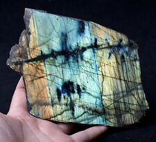 620.5g NATURAL Labradorite Blue/Yellow/ ORE / Fire GEM Mineral Specimen