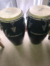 More details for black mamba conga drums - pair