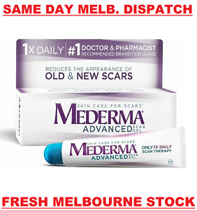 MEDERMA Advanced Scar Gel Cream Treatment 20g Skin Care Old & New Scars SEALED