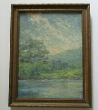 ARTHUR BECKWITH ANTIQUE PAINTING EARLY CALIFORNIA IMPRESSIONIST SAN FRANCISCO NY