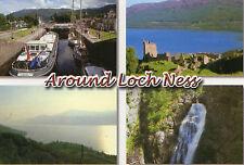 postcard Scotland Aound Loch Ness  l unposted Hinde