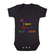 Be Jealous I Have The Best Aunt Uncle Cotton Baby Bodysuit One Piece
