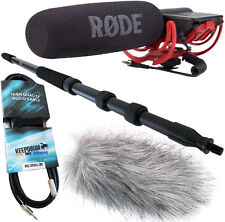 Rode VideoMic Rycote tamburi Bundle Pro +mpb01 boom pole PRO + ANTIVENTO WH + Cavo