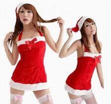 Sexy Women Miss Claus Ms Hot Mrs Santa Xmas Christmas Party Dress Costume USA!!!