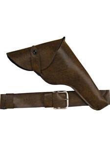Indiana Jones Costume Accessory Belt Holster and Toy Gun