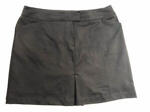 "Tail Sz 14 White Label Women's Black 18"" Outseam Golf Tennis Hiking Skort Sz 14"
