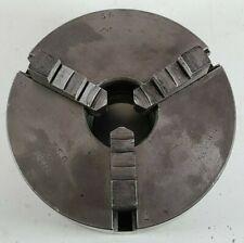 Vintage 5 Atlas Bb 435 Script Logo Metal Lathe Chuck 3 Jaw 15 8tpi Usa