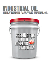 Phillips 66 Industrial Oil 2500highly Refined Paraffinic Mineral Oil5 Gal Pail