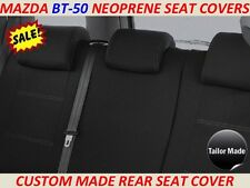 MAZDA BT-50 MK1 (UP)  CUSTOM MADE REAR NEOPRENE SEAT COVER ( WETSUIT MATERIAL )
