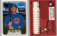Nelson Velazquez 2018 Topps Heritage Minor League MAGENTA RED BACK SP Cubs #64