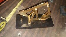 De Mott Oilfield Pump Jack-24K Gold Plated