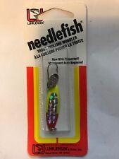 Luhr Jensen Needlefish 1051-000-0083 Sz 0 Pearl Bikini with Flipper Tail