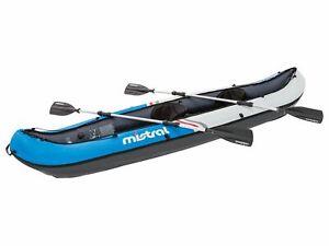 Kajak Paddelboard Ruderboot Nylon 2 Finnen System mistral B-Ware einwandfrei