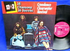 LP CREEDENCE CLEARWATER REVIVAL CCR - 16 CHANSONS 16 SUCCES // FRANCE CARRERE
