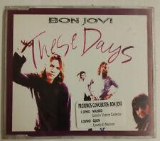 Bon Jovi These Days Cd-Single UK Promo 1996 sticker en portada