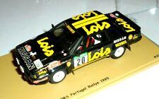 car 1/43 BIZARRE BZ332 NISSAN 240 RS  #20 PORTUGAL'85 MENDES/CUNHA NEW BOX
