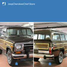Jeep SJ Grand Wagoneer 1984-91 - OEM Bumper nerf stripes guards - Front/Rear kit