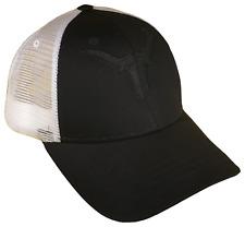 Texas Longhorns Mesh Golf Trucker Cap Baseball Caps Hat Hats UT Black Blackout