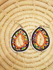 New African Maasai Earrings Masai Massai Africa S/M jemo449