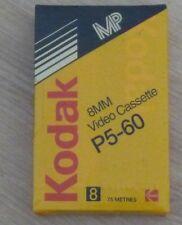 Cassette Tape Factory Sealed Kodak 8 MM P5-60