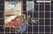 BR64682 loch maree mistletoe heraldic the mackenzie   scotland