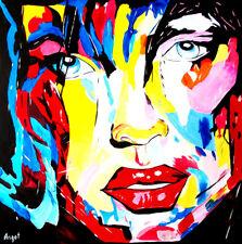 Acrylique sur Toile, Pop art, Signé, Contemporain, moderne, Expressionnisme