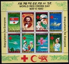 Korea Noord world red cross day 1980 Mi 1976 - 1983 (nk3)