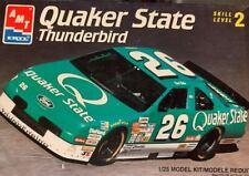 NASCAR #26 Quaker State Thunderbird Brett Bodine 1/25 AMT NIOB! *GREAT*