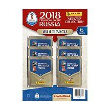 Coupe du Monde FIFA Russie 2018 ~ Panini Sticker Collection ~ Conditionnement multiple Inc 6 Packs