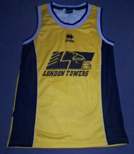 London Towers Basketball Jersey - New - Small / Medium / XL / XXL