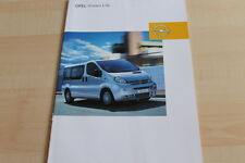 133684) Opel Vivaro - Life - Prospekt 01/2004