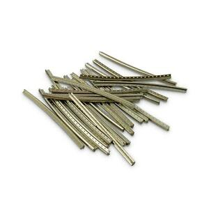 24 Pieces Stainless Steel Fret Wire - Medium Jumbo 2.4mm x 1.2mm x 60mm