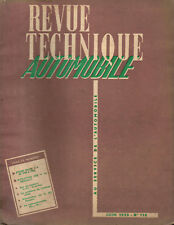 RTA revue technique automobile N ° 110 BUICK V8 1953 A 1955