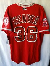 New Majestic Authentic Los Angeles Angels Jered Weaver 36 Jersey Men 48 XL Sewn