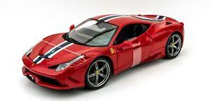 Ferrari 458 Speciale 1:18 Model Car Maisto Special Edition, New