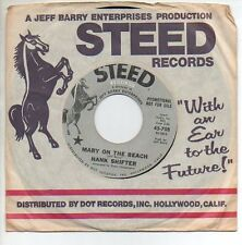 HANK SHIFTER 45 RPM Promo Record MARY ON THE BEACH / TWO OF A KIND Mint !