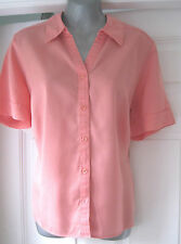 Marks and Spencer Collared Short Sleeve Classic Women's Tops & Shirts