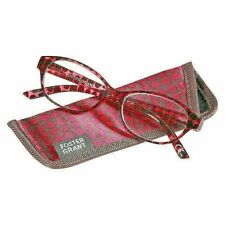 $17.99 FOSTER GRANT Reading Glasses w/ Case MONICA Pink Magenta +2.00 Readers